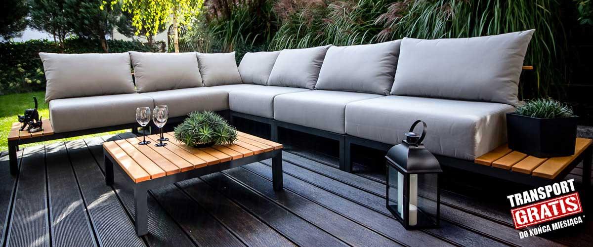 Unikalne Eleganckie meble ogrodowe z drewna i aluminium - sklep internetowy NW34