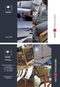 Katalog mebli ogrodowych, meble do hoteli i SPA