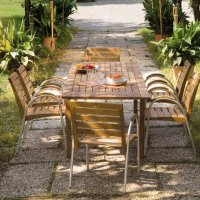Stół i krzesła Arabella