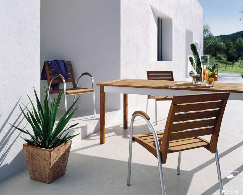 Fotel i stół ogrodowy Arabella