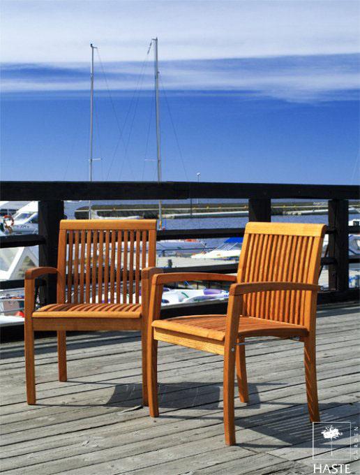 Fotele ogrodowe Linnea