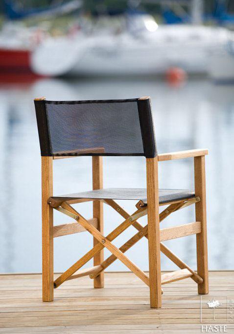 Składany fotel ogrodowy