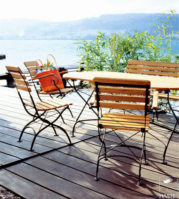 Meble do ogródków kawiarnianych i restauracyjnych