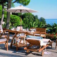 Zestaw mebli ogrodowych Riviera