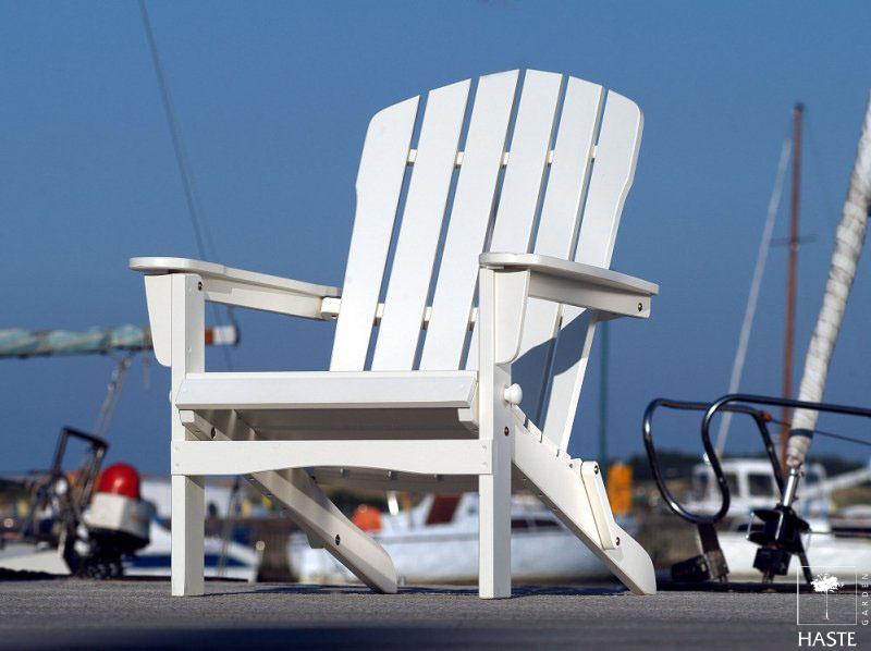Biały fotel ogrodowy Colorado