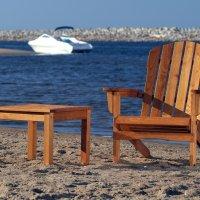 Składany fotel wypoczynkowy