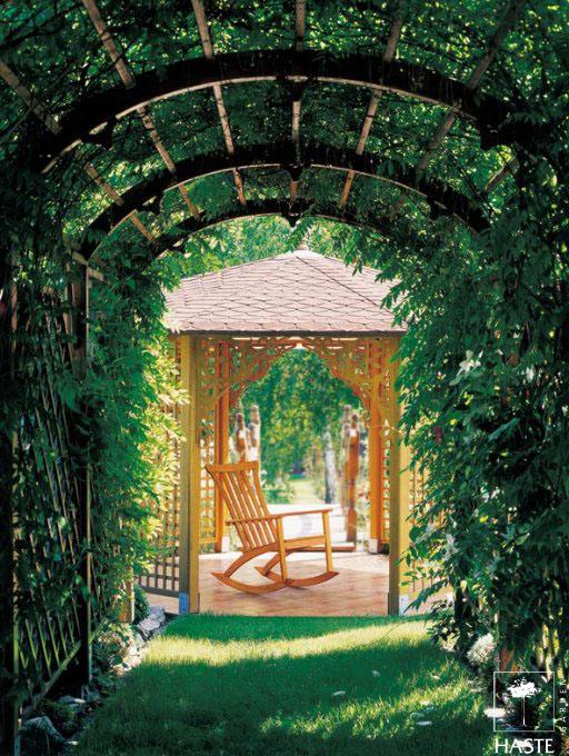 Ogrodowy fotel bujany Grace