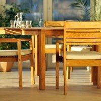 Zestaw drewnianych mebli MARIS