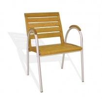 Fotel aluminiowy