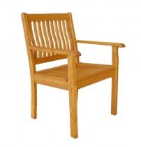 Drewniane fotele (sztaplowane)