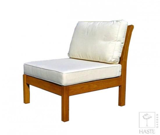 Fotel ogrodowy z poduchami