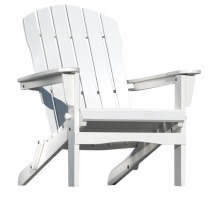 Fotel Adirondack Chair - biały