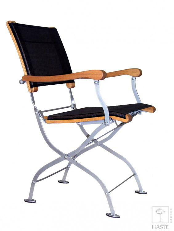 Fotel metalowy do ogrodu