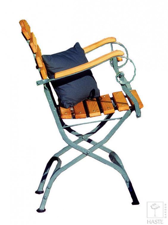 Fotele ogrodowe (metalowy stelaż)