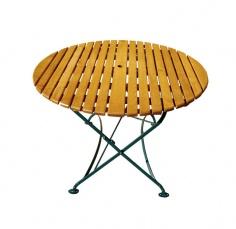 Stół ogrodowy okrągły (śr. 110 cm)