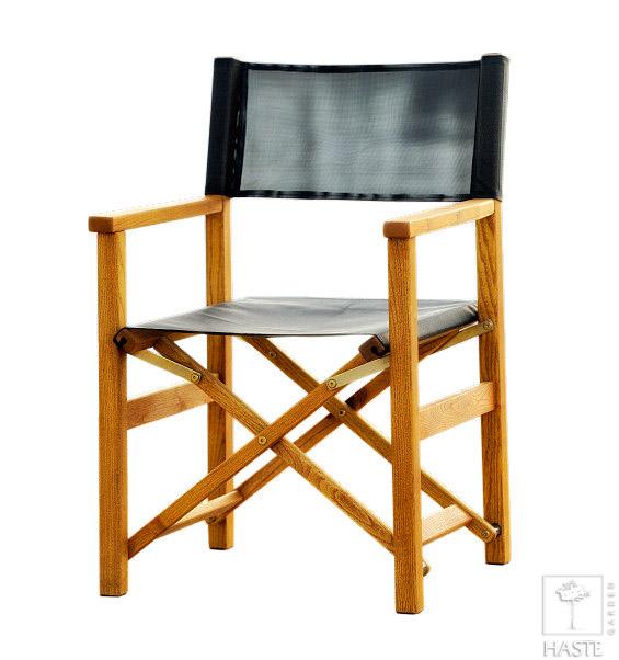 Fotel reżyserski (czarny)