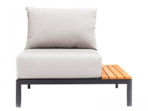 Krzesło ogrodowe z prawą półką Mohito