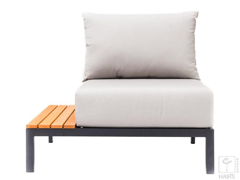 Krzesło ogrodowe z lewą półką Mohito