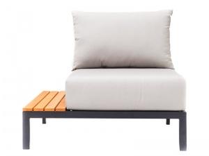 Krzesło z lewą półką Mohito