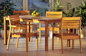 Stół + 6 foteli - komplet mebli ogrodowych MARIS