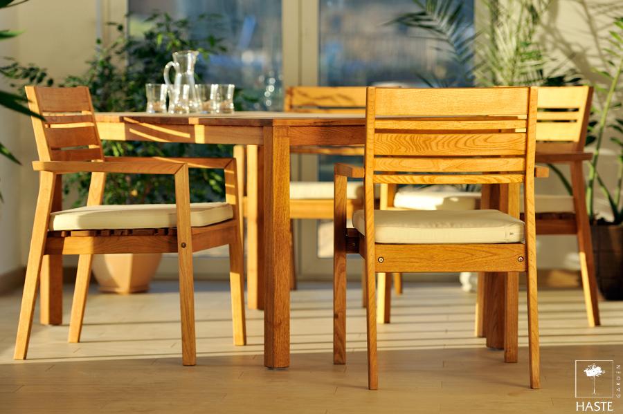 Promocja zestawu MARIS: stół + 4 fotele