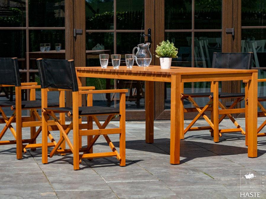 Zestaw mebli ogrodowych: 6 foteli POLO + stół