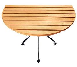 Stół półokrągły